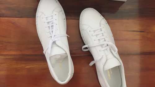 买双小白鞋 – Common Projects 18ss Achilles Sneakers 2123